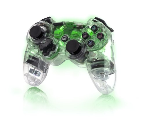 Pdp Ps3 Afterglow Wireless Controller - Green