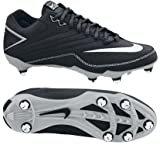 Nike 396238011 Super Speed D Men's Football Cleats (Black/White)