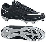 Nike 396238011 Super Speed D Men's Football Cleats (Black/White)