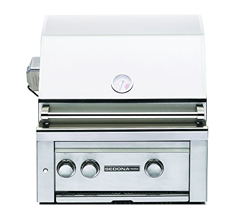 Lynx L400Psr-Lp Sedona Propane Gas Grill-On Cart With Pro Sear Burner And Rotisserie, 24-Inch