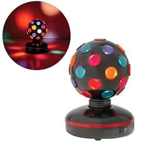 "5"" Mini Rotating/Spinning DJ/Disco Ball Lighting"