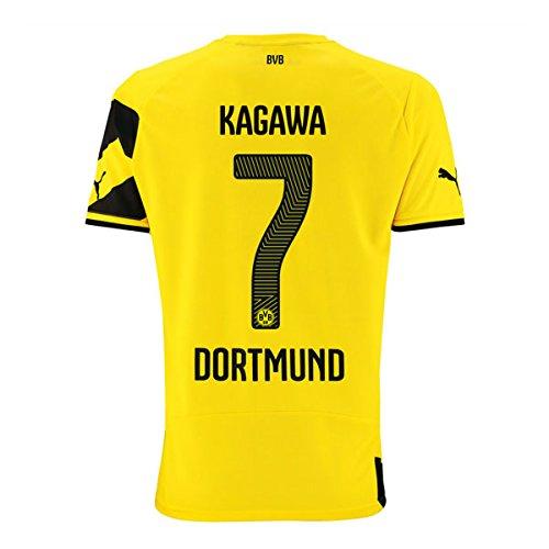 【ボルシア ドルトムント・Borussia Dortmund 】公式BVBユニホーム/ホーム「Kagawa Shinji」【サイズL】【並行輸入】