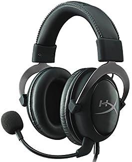 キングストン HyperX Cloud II 7.1バーチャルサラウンドサウンド対応 USBオーディオコントロールボックス付属 プロゲーミングヘッドセット国内正規代理店品 2年保証 ガンメタル/ブラック KHX-HSCP-GM