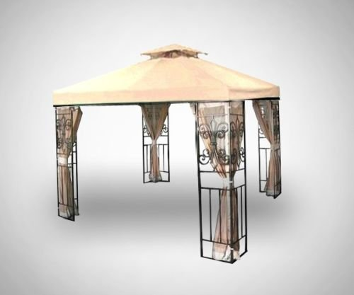New Canopy Top - 2 Tier(12x12)-018 Series (Beige, 12x12)