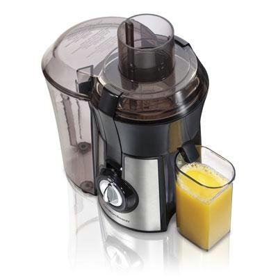 Hamilton Beach 67608 Big Mouth Juice Extractor, Stainless Steel