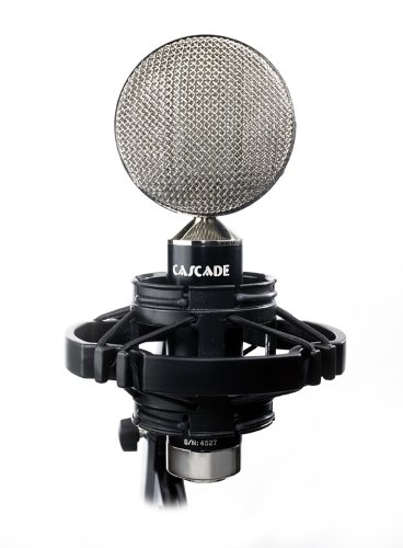 Cascade Microphones Fat Head Ii - Black/Silver