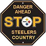 NFL Pittsburgh Steelers Stop Sign