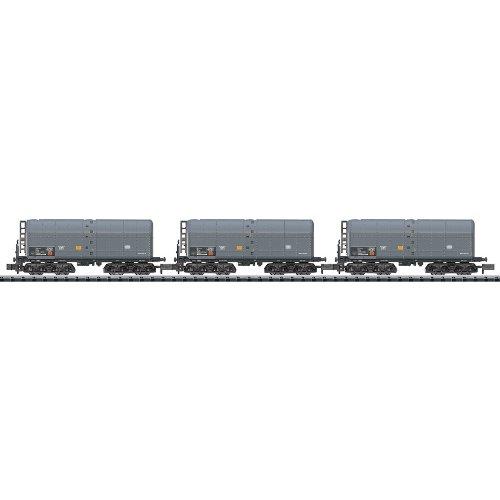 MiniTrix T15280 N 3er Set Schweröl-Kesselwagen der DB