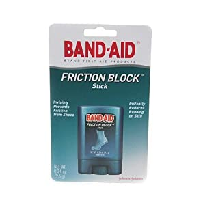 Band Aid Brand Friction Block Stick .34oz,  Boxes (Pack of 3)