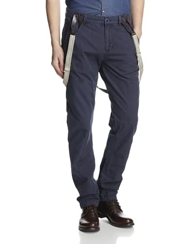 Desigual Men's Adrian Pant with Suspenders