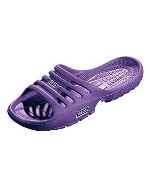 BECO Womens EVA Beach Sandal Size: EU 37 Color: Lilac