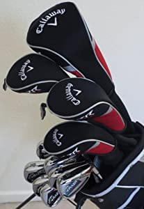 NEW Mens Callaway Complete Golf Set Driver, Fairway Wood, Hybrid, Irons, Putter,... by Callaway