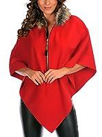 MADEMOISELLE LOLA Capa Aurelie (Rojo)