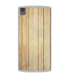 Wooden Pattern 2D Hard Polycarbonate Designer Back Case Cover for OnePlus X :: One Plus X :: One+X