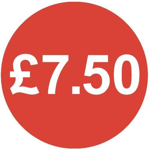 Audioprint Lot Petit 13mm £ 7.50Prix-50000autocollants