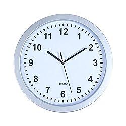 Stalwart 82-5894 Wall Clock with Hidden Safe, 10
