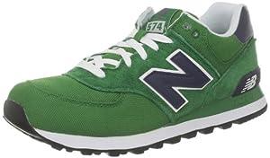 New Balance ML574C D 282331-60 Herren Sneaker, Mehrfarbig (CVG GREEN/NAVY 6), EU 43(US 9.5)