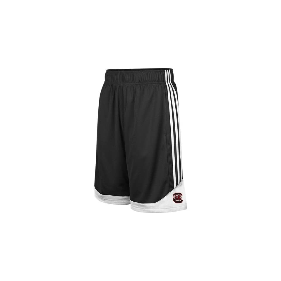 adidas South Carolina Gamecocks Black Pre Game Mesh Basketball Shorts