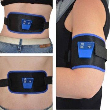 Ab Gymnic Electronic Muscle Arm Leg Waist Abdominal Massage Slim Belt By Tjspecial