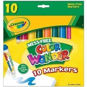 Color Wonder Broad Line Markers 10-Pack - 2 Packs