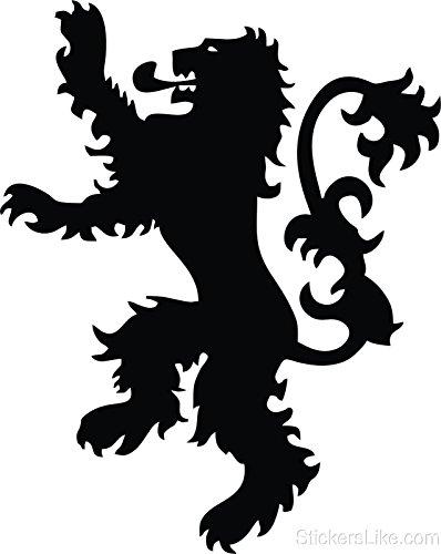 Game of Thrones House Lannister Sigil vinyl Sticker decal ...