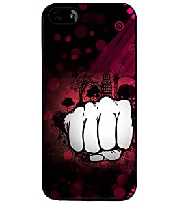Fuson Smack Pink Pattern Back Case Cover for APPLE IPHONE 4S - D3788