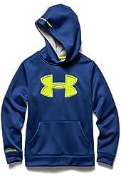 Under Armour Youth Boys Fleece Storm Big Logo Hoody