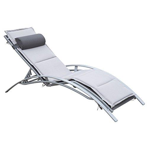 Outsunny-Sonnenliege-Gartenliege-Gartenstuhl-Relaxsessel-Liegestuhl-Aluminium-grau-170x64x82-cm-01-0704
