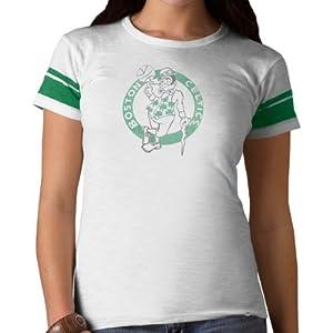 NBA Boston Celtics Game Time Tee, White Wash by