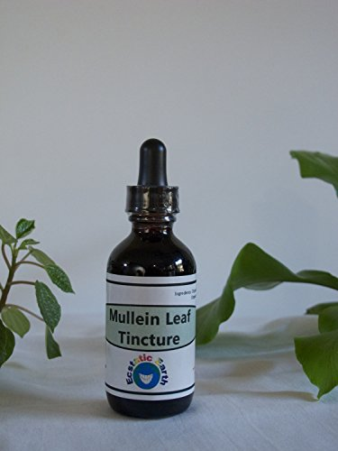100% Organic Mullein Leaf Tincture ~ 1 Ounce Bottle ~