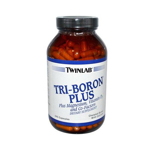 TWINLAB, Tri-bore Plus 3mg - 240 capsules