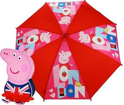 Peppa Pig - London Union Jack Small Nursery Backpack