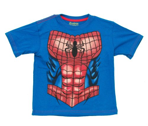 Spider-Man Marvel Comics Superhero Costume Toddler T-Shirt Tee