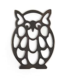 Kikkerland Owl Stainless Steel Bottle Opener