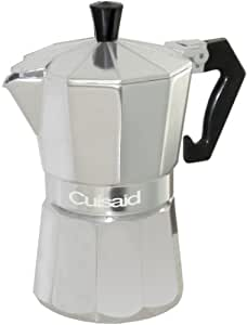 Cuisaid Xpress-O Stove-Top 3 Cup Espresso Maker