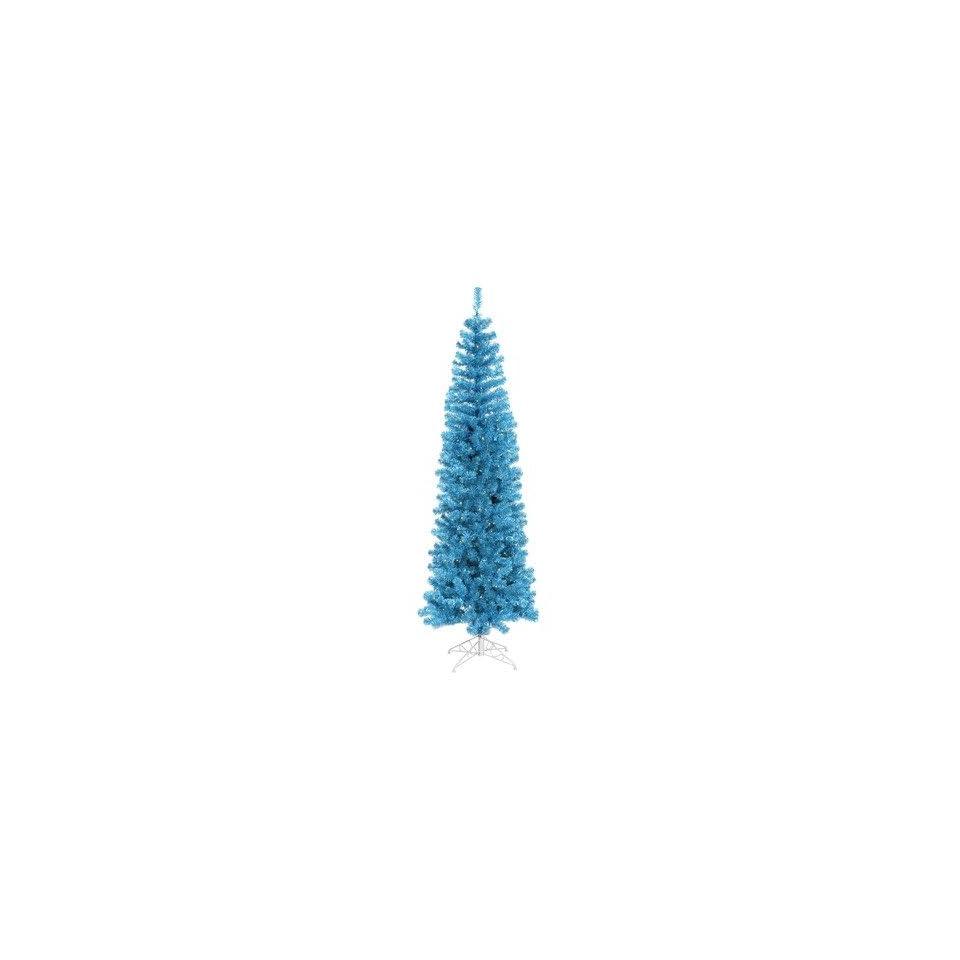 Vickerman B103266 78 Artificial Christmas Tree in Sky Blue