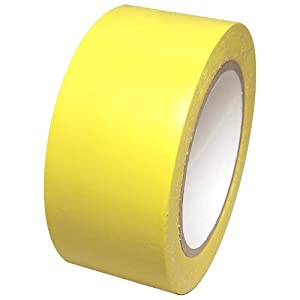 "Vinyl Marking Tape 2"" x 36 yards several colors to choose from, Yellow"