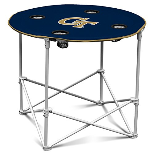 ncaa-georgia-tech-yellow-jackets-round-tailgating-table
