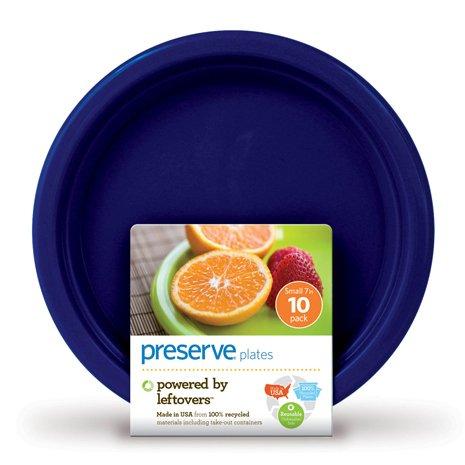 "Tableware Midnight Blue Plateware Small 7"""" - 10 ct,(Preserve)"