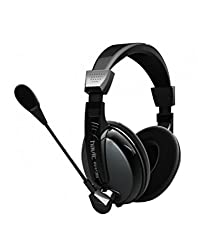 HAVIT HV136D HIGH QUALITY STUDIO HEADPHONE HEADSET WITH MIC BIG EAR PAD GRAY & BLACK
