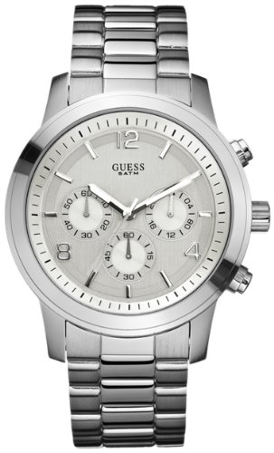 GUESS Men's U13577G1 Stainless Steel Contemporary Chronograph Watch