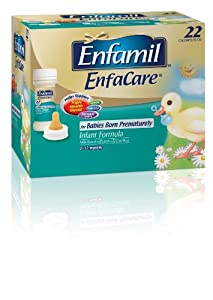 Enfamil Enfacare for Premature Babies, Infant Formula , 2 fl. oz. Nursette Bottles (pack of 6)