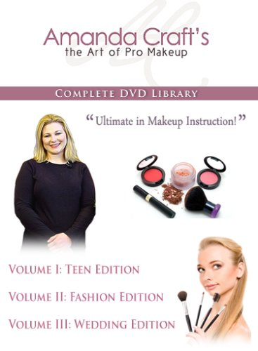 The Art of Pro Makeup: Complete Set, Professional Makeup Instruction and Lessons
