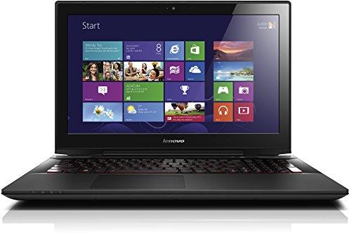 "Lenovo IdeaPad Y50-70 Portatile, 15.6"", Intel Core i7-4720HQ,  8 GB RAM, 256 GB SSD, NVIDIA GeForce 960M,  Tastiera con layout tedesco (QWERTZ), Nero"