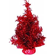 Sterling/Palm Tree 6003-12R Curly Tinsel Specialty Tree