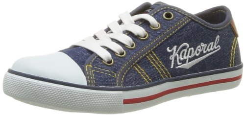 Kaporal Boys' Stanislas Trainers Blue Bleu (53 Bleu Denim) 37