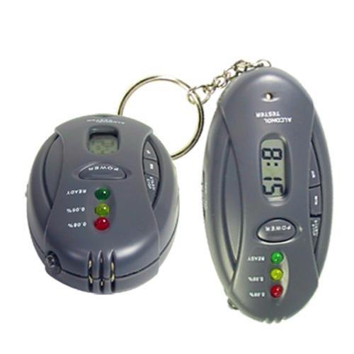 FLOVEME ALCOTEST et Chronomètre avec Torche à LED Le Meilleur Choix du CADEAU
