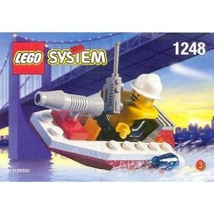 Lego City Mini Figure Set #1248 Fire Boat  available at amazon for Rs.2339