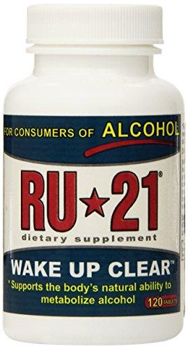 RU-21 KGB Pill Hangover Prevention 120 Counts