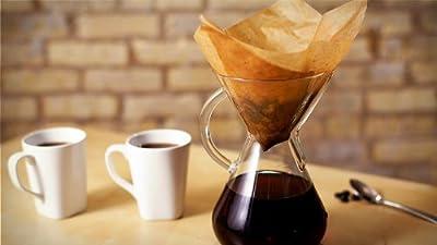 Chemex ケメックス コーヒーメーカー フィルターペーパー 6カップ用 ナチュラル 無漂白タイプ 100枚入 濾紙 FSU-100 並行輸入品